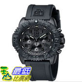 [103美國直購] 男士手錶 Luminox Rubber Strap Black Chronograph Mens Watch - 3081.BO $12156