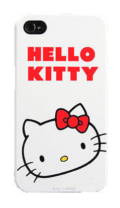 【漢博商城】POWER SUPPORT iPhone 4/4S 專用 Hello Kitty 保護殼(KT13) ※ 購買即贈保護貼
