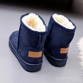 雪地靴女冬季新款多色加絨加厚保暖網紅短筒短靴平底棉鞋子潮 雙12全館免運