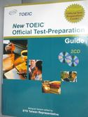 【書寶二手書T1/語言學習_WFV】New TOEIC Official Test-Preparation Guide_ETS_附光碟