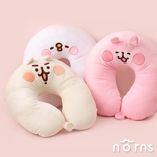 Kanahei U型頸枕 附釦款- Norns 卡娜赫拉小動物 兔兔P助 絨毛抱枕 靠墊