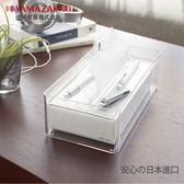 LUXS晶透收納面紙盒(透明)