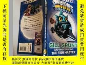 二手書博民逛書店gill罕見grunt and the curse of the fish master 鰓咕嚕聲和魚主人的詛咒奇