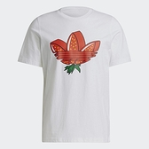 Adidas Originals Strawberry Trifolio 男裝 短袖 T恤 水果 草莓三葉草 純棉 白【運動世界】GP1971