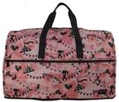 HAPI+TAS 摺疊大旅行袋 - 粉紅...
