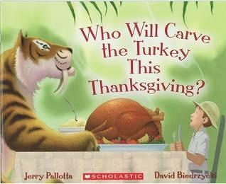 【麥克書店】WHO WILL CARVE THE TURKEY THIS THANKSGIVING / 英文繪本《主題:動物.幽默.想像》