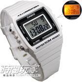 CASIO卡西歐 W-215H-7A 電子錶 LED多彩大字幕數位錶 計時碼錶 鬧鈴 運動錶 W-215H-7AVDF