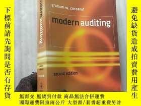 二手書博民逛書店modern罕見auditing second edition