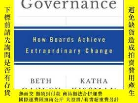 二手書博民逛書店Transformational罕見Governance: How Boards Achieve Extraord