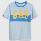Gap男童棉質舒適圓領短袖T恤539649-淺藍色