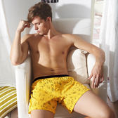 【MG-DAYNEER】M10018舒活系列-四角褲(能量黃)(本品未購滿3件恕不出貨,退貨需整筆退)