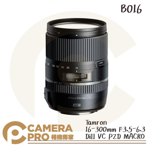 ◎相機專家◎ Tamron 16-300mm F3.5-6.3 DiII VC PZD MACRO B016 公司貨