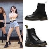 夏季馬丁靴女英倫風學生厚底透氣機車靴子女短靴筒工裝靴薄款
