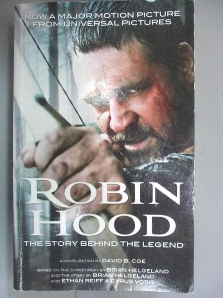 【書寶二手書T2/一般小說_IHK】Robin Hood_Coe, David B.