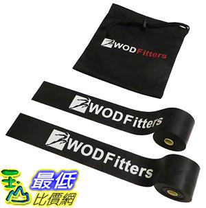 [美國直購] WODFitters B00PCSAJYM Floss Bands for Muscle Compression Tack & Flossing, Mobility & Recovery WODs - 2 Pack