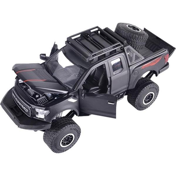 模型車 新福特猛禽F150玩具車模型仿真皮卡SUV合金車模型男孩玩具小汽車【限時八五鉅惠】