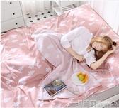 睡袋 北極絨純棉旅行酒店隔臟睡袋賓館雙人防臟床單出差便攜成人被套 8號店