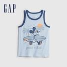 Gap男幼童 Gap x Disney 迪士尼系列透氣背心 687841-灰藍色