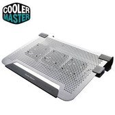 Cooler Master Notepal U3 PLUS 筆電散熱墊 銀色
