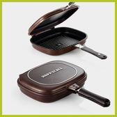韓國 HAPPYCALL 鑽石壓力雙面鍋(加大款) 超值組合 【送雙面鍋膠條 + 木鏟 】