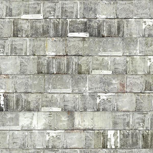 工業風壁紙  鐵鏽【荷蘭進口牆紙】 仿真 白色 灰色   【訂貨單位48.7cm×10m/卷】NLXL BY PIET HEIN EEK