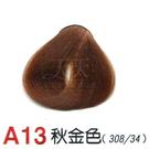 【燙後染髮】奇靈鳥 二代染髮劑 A13-秋金色 [38353]