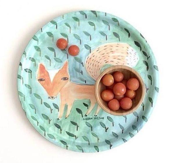 Donna Wilson 森林狐狸 圓盤 圓托盤 圓皿 36cm