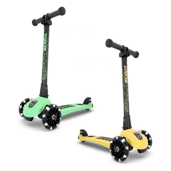 奧地利 Scoot & Ride Kick 3 LED炫輪滑板車(3色可選)
