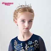 年終大促  兒童皇冠發飾寶寶飾品公主發夾發箍女孩頭箍演出飾品女童頭飾王冠 春生雜貨