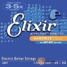 Elixir 頂級電吉他弦- 7弦/七弦電吉他專用 Nanoweb (12057) (10-56)