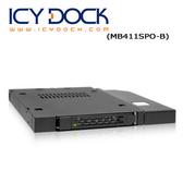 """[富廉網] ICY DOCK MB411SPO-B 2.5"""" 薄型軟/光碟機裝置空間 硬碟抽取盒"""