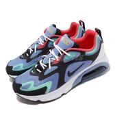 Nike 休閒鞋 Air Max 200 紫 黑 桃紅 氣墊 男鞋 運動鞋 【ACS】 AQ2568-401