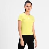 PUMA Classics 女款黃色貼身短袖T-NO.59957738