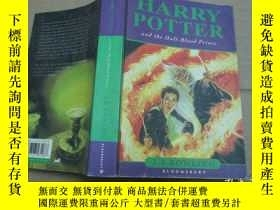 二手書博民逛書店HARRY罕見POTTER :Harry Potter and the Half-Blood PrinceY1