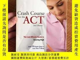 二手書博民逛書店Crash罕見Course for the ACTY182979