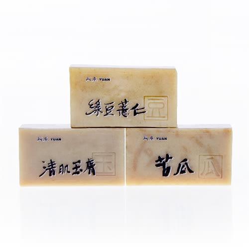 【阿原肥皂】「淨」苦瓜皂+清肌玉膚+綠豆薏仁