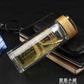 新款大悲咒水晶杯玻璃杯雙層耐熱佛經水杯藥師咒準提咒心經佛系杯 藍嵐