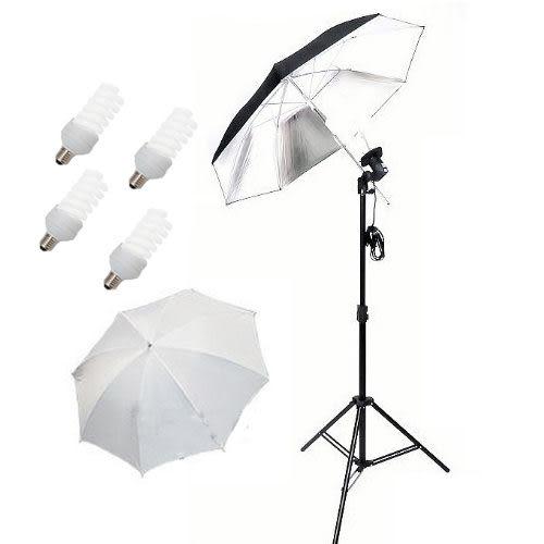 冷光傘型 四聯/單燈 反光傘組