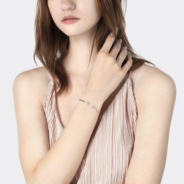 點睛品 Wrist Play 18K星形鑽石手環/手鐲