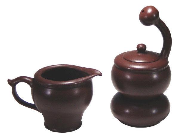 鹿港窯~紫砂意象玄機茶具組【沈思】附精美盒◆免運費送到家