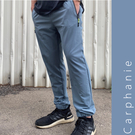 Carphanie卡芬妮 韓版百搭顯瘦透氣素面雙口袋縮口休閒褲 上班工作褲-4色