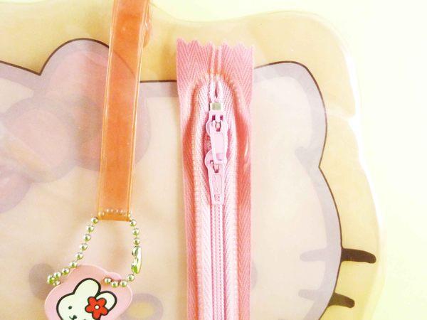【震撼精品百貨】Hello Kitty 凱蒂貓~造型透明袋【共1款】