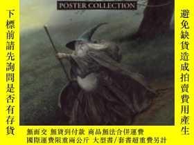 二手書博民逛書店Images罕見Of Middle-earth: Poster CollectionY256260 John
