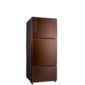 聲寶580公升三門變頻冰箱琥珀棕SR-B58DV(R9)