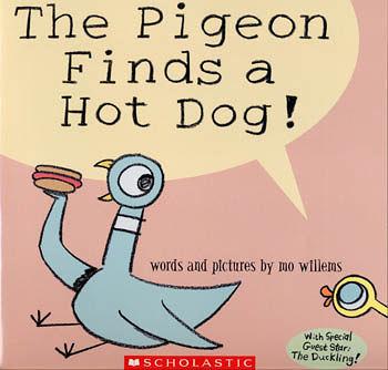【麥克書店】THE PIGEON FINDS A HOT DOG /英文繪本附CD (Mo Willems/頑皮鴿子/楊禎禎)