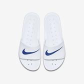 Nike Kawa Shower [832528-100] 男女 涼鞋 拖鞋 休閒 海灘 游泳 戲水 輕量 防水 白藍