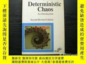 二手書博民逛書店Deterministic罕見chaos : an introduction 2nd rev. edY4434