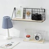 好康推薦創意墻壁鐵藝日式墻上置物架免打孔衛生間廚房裝飾擱板壁掛架收納