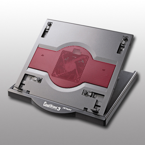 JETART 捷藝科技 CoolStand3 多段角度可旋轉 人體工學 筆電 散熱器 NC6000