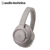 【audio-technica 鐵三角】ATH-SR50BT 耳罩式藍牙耳機(咖)